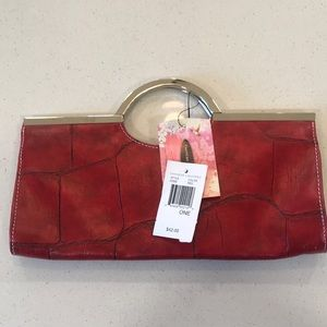 Red Chinese Laundry clutch